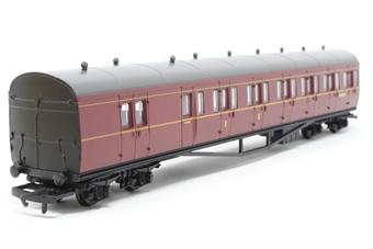 R4099B-PO04 BR Maroon Suburban B Coach No.W6382W - Pre-owned - Like new, imperfect box