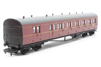 R4099B-PO05 BR Maroon Suburban B Coach No.W6382W - Pre-owned - mark on roof, imperfect box £12