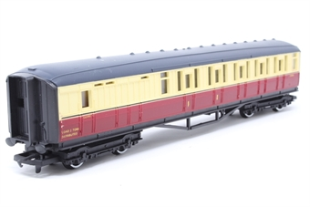 R410-PO05 B.R (Ex L.N.E.R) Brake Composite Coach E10066 - Pre-owned - Marks on roof, minor paint chipping on body sides, replacement box