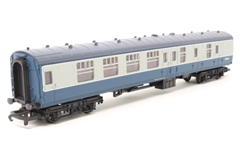 R4109-PO04 Mk1 Brake 2nd corridor coach in BR Blue/Grey - Pre-owned - replacement box