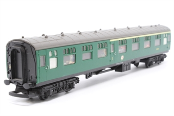 R4115-PO04 B.R Mk.1 Composite Coach (Southern Region) S15021 - Pre-owned - detailed with added passengers-  mark on glazing - missing coupling hook- imperfect box