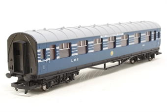 R4128A-PO06 L.M.S. Composite Coach (Coronation Scot Livery) 1069 - Pre-owned - Like new