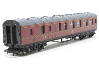 R4129C-PO01 L.M.S. Brake 3rd Coach 5214 - Pre-owned - missing buffers- replacement box