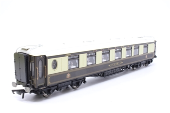 """R4145-PO21 Wood sided Pullman 1st class kitchen car """"Cynthia"""" with working lights - Pre-owned - Like new"""