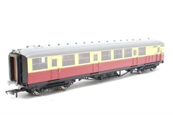 R4178-PO07 Gresley 61ft corridor brake coach E10092E in (ex LNER) BR crimson & cream - Pre-owned -  imperfect box
