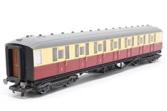 R4179-PO08 Gresley 61ft corridor 1st class coach E11018E in (ex LNER) BR crimson & cream - Pre-owned - Like new