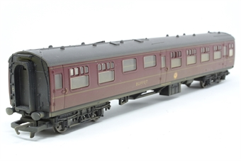 R4203A-PO05 MK1 Buffet M1820 in BR maroon - weathered - Pre-owned - imperfect box