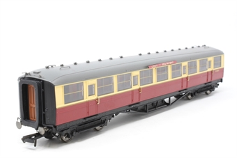 R4228-12688-PO Gresley Corridor 3rd E12688E in BR Crimson & Cream - separated from coach pack - Pre-owned - replacement box