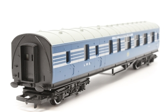 R423-PO11 L.M.S. Brake 3rd Coach (Coronation Scot Livery) 5792 - Pre-owned - Like new - imperfect box