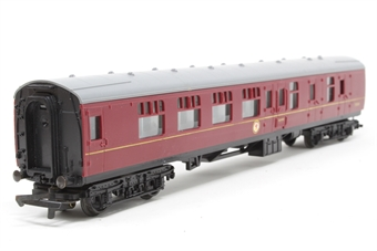 R423C-PO11 B.R Brake 2nd Class Coach 35024 - Pre-owned - Minor marks on body, replacement box £6