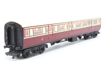 R427A-PO07 Caledonian Railways 1st/3rd Composite Coach with cream roof - Pre-owned - replacement box