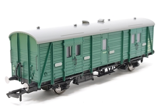 R4306C-PO05 BR Southern green Maunsell 4-wheel passenger brake van in BR Southern green No. S774S - Pre-owned - Like new - Imperfect box £38