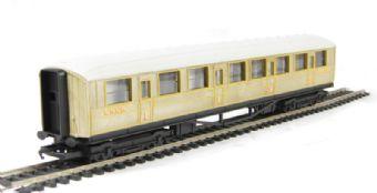 R4332 Gresley composite 22357 in LNER teak - Railroad range