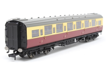 R4344B-PO04 BR Blood and Custard Maunsell Corridor 1st Class (High Window) A - Pre-owned - Like new