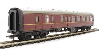 R4352 Mk1 BSK brake second corridor M34655 in BR maroon - Railroad Range