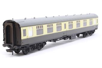 R4353-PO05 Mk1 CK corridor composite W15612 in BR chocolate and cream - Railroad Range - Pre-owned - Like new