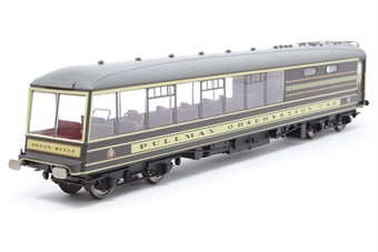 R4377-PO12 Devon Belle Pullman Observation Car with working lights - Pre-owned - Like new