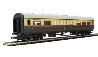 R4525 Collett restaurant car 9578 in GWR chocolate & cream - Railroad Range