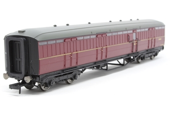 R4531A-PO02 BR Gresley Full Brake in BR Maroon. - Pre-owned - Like new £36
