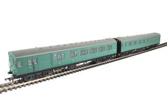 R4534E Maunsell push-pull coach pack Set 601 in BR green