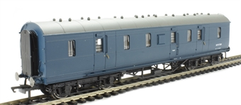 R4606 Ex-LMS 50' full brake M31176M in BR blue