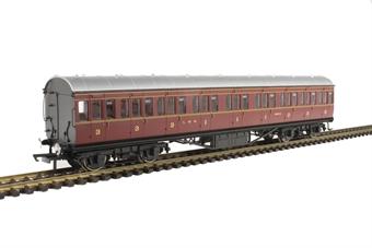 R4656A 57' non-corridor composite 16612 in LMS crimson