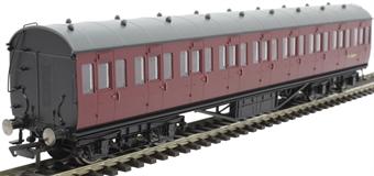 R4690A 57' non-corridor third M11886M in BR maroon
