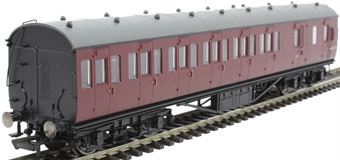 R4691B 57' non-corridor brake third M20752M in BR maroon
