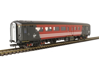 R4704 Mk2E BSO brake second open 9507 in Virgin Trains red/black - with lights