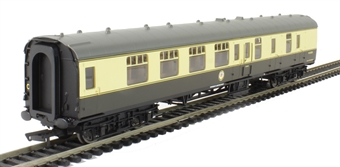 R4710 Mk1 BSK brake second corridor W34290 in BR chocolate & cream