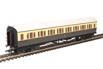 R4758 Collett corridor third class 5008 in GWR chocolate and cream £38