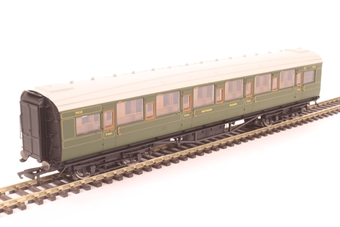 R4770 Maunsell corridor first 7412 in SR olive green