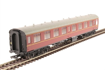 R4783 Mk1 SK second corridor E24693 in BR maroon without crest