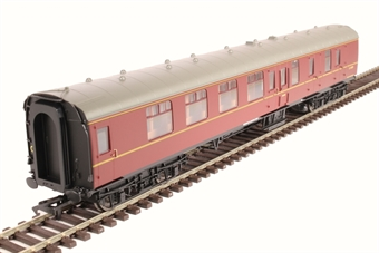 R4785 Mk1 BSK brake second corridor E34729 in BR maroon without crest