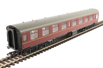 R4787 Mk1 TSO tourist second open E4656 in BR maroon without crest