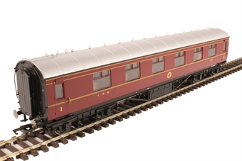 R4803 Stanier Period III corridor first 1041 in LMS crimson