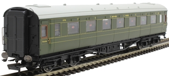 R4833 Maunsell third open 1375 in SR olive green