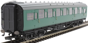 R4834 Maunsell second corridor S1113S in BR green