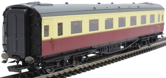 R4835 Maunsell second open S1346S in BR crimson and cream