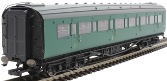 R4842 Maunsell comoposite corridor S5145S in BR green