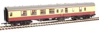 R4848 Mk1 BSK brake second corridor M34466 in BR crimson and cream