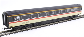R4851 Mk3 TRFB buffet 40711 in Intercity Swallow livery