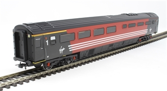R4855 Mk3a TRFB buffet 10235 in Virgin Trains red and black