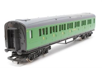 R486-PO11 Composite Coach 5117 in SR Green - Pre-owned - incorrect box