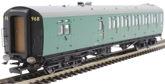 R4888A Bulleid 59' brake third corridor S2852S in BR green