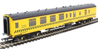 R4902 Mk1 1 QPA BTU staff and dormitory coach ADB975574 in BR engineers yellow