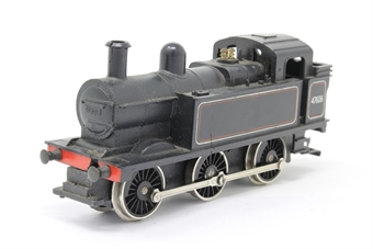 R52-PO13 Class 3F 0-6-0T 47606 in BR Black - Pre-owned - missing front coupling - missing chimney screw - decals worn - body loose from chassis - replacement box