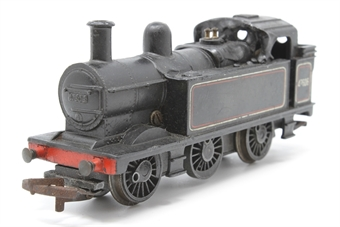 R52-PO35 Class 3F 0-6-0T 47606 in BR Black - Pre-owned - sold as seen - non-runner - corrosion on couplings - warped bodyshell - worn decals - replacement box