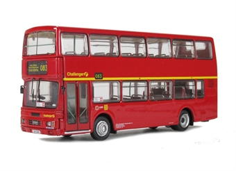 "R603Britbus Leyland Olympian Alexander R Type double deck bus ""First Centrewest-Challenger"". L24 GAN £9"