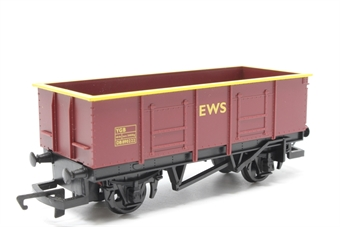 R6367-PO27 Open coal wagons in EWS livery - Railroad Range - Pre-owned -  one wagon only, replacement box